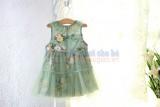Váy hoa sát nách TBG004