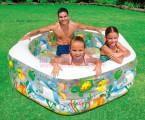 Bể bơi phao lục giác Intex 56493