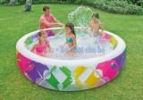 Bể bơi phao gia đình nhiều sắc màu intex 56494