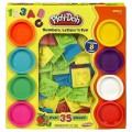 Đồ chơi đất nặn Bảng chữ cái và số Play-Doh