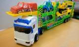 Mô hình xe ô tô chở xe con và xe công trường MH0530