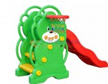 Cầu trượt gấu đơn CT002 cho bé