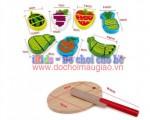 Đồ chơi nấu ăn hoa quả gỗ LG010