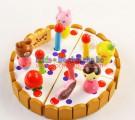 Đồ chơi dành cho bé gái - Bộ lắp ghép mô hình bánh sinh nhật LG011