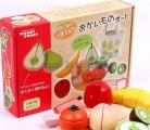 Bộ thái hoa quả gỗ thương hiệu cao cấp Nhật Bản Woody Puddy