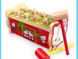 Bộ đồ chơi đập chuột bằng gỗ phiên bản 2 búa