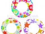 Phao bơi hình tròn nhiều hoa văn đáng yêu cho bé INTEX 59241