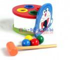 Đồ chơi gỗ - Bộ đập bóng Doremon LT005