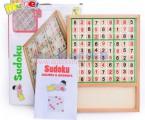 Bộ ghép hình phiên bản game Sudoku bằng gỗ LT014