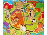 Đồ chơi tìm nhà cho động vật bằng gỗ cho bé