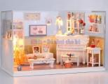 Nhà búp bê - Phòng trà xinh xắn