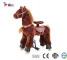 Thú nhún di động - Ngựa bờm nâu thảo nguyên 05 cho bé 3 - 8 tuổi