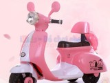 Xe máy điện trẻ em kiểu dáng xe Vespa XG009 điệu đà cho bé