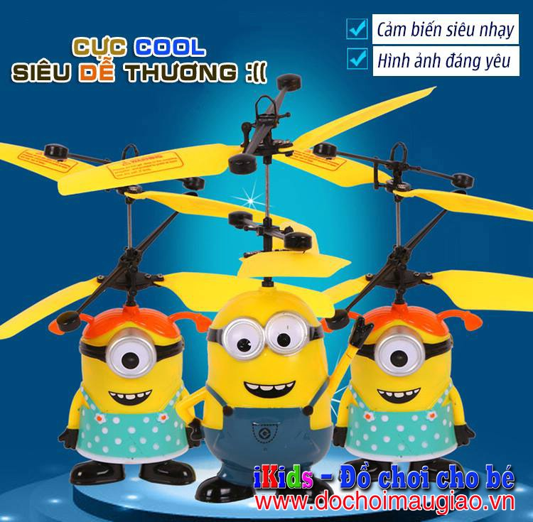 do choi tre em nguoi bay minion 3