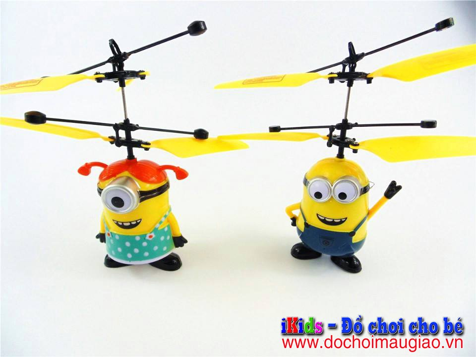 do choi tre em nguoi bay minion 2