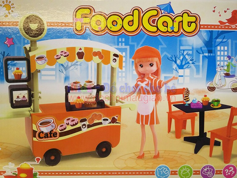 do choi xe hang foodcart coffee dochoimaugiaovn 1