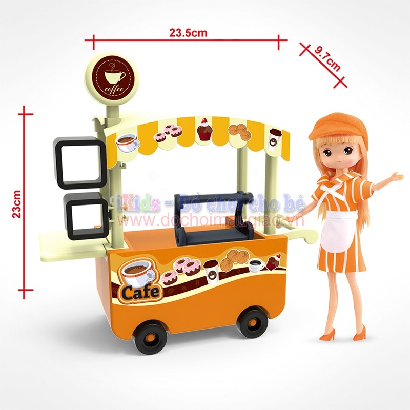 do choi xe hang foodcart coffee dochoimaugiaovn 3
